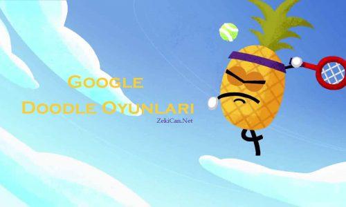 Google Doodle Oyunları