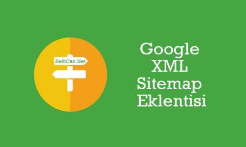Google XML Sitemap Eklentisi