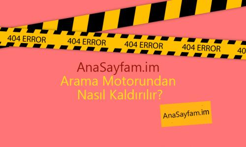 Anasayfam.im Den Kurtulma