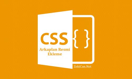 CSS de Backround İmage Nasıl Kullanılır