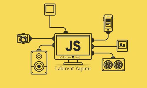 JavaScript Kodu ile Labirent Yapımı