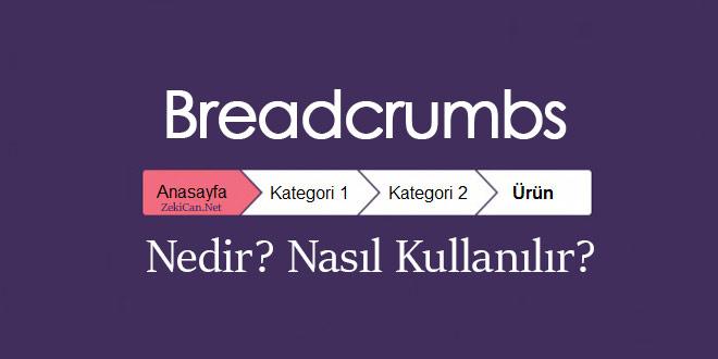breadcrumb-nedir
