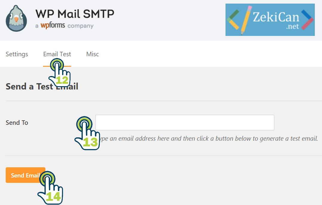 SMTP Ayarları