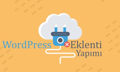 WordPress Eklentisi Nasıl Yapılır