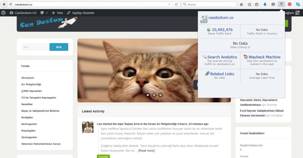 Can Dostum Co site denemem ekran görüntüsü