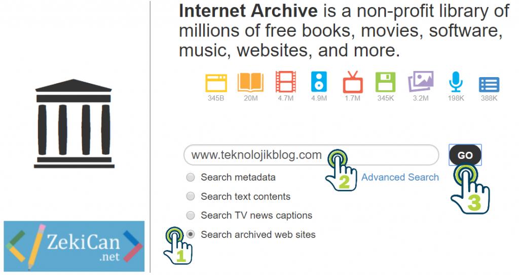 web site geçmişi