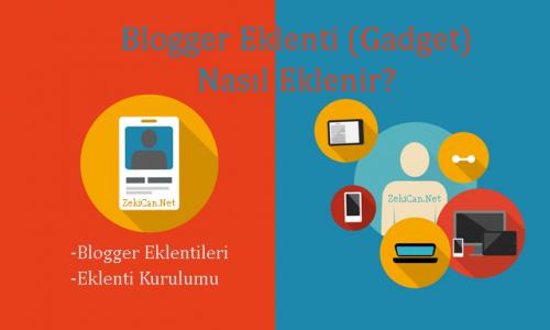 Blogger Eklentileri