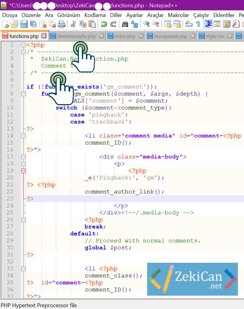 Function.php doaysi nedir