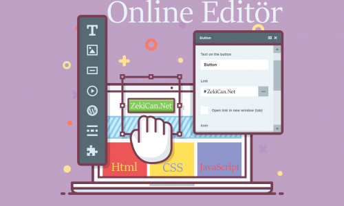 Online Html CSS Javascript Editörü