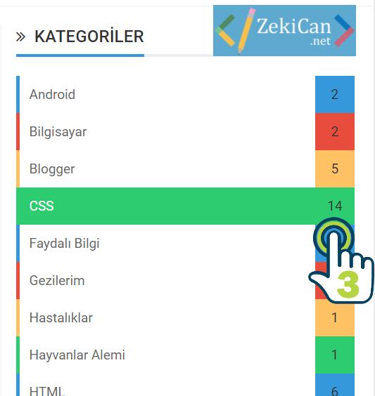 WordPress Kategori Sayısı