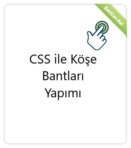 CSS ile Köşe Bantları Ribbon Yapımı