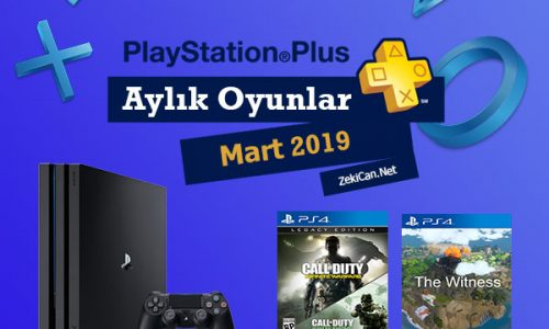 Mart ayı için verilen PlayStation Plus Oyunları
