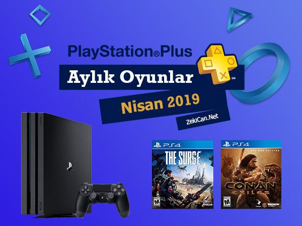 Ps Plus Ücretsiz Verilen Nisan 2019 Oyunları