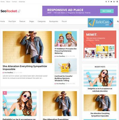 Seorocket Ücretsiz Blogger Teması