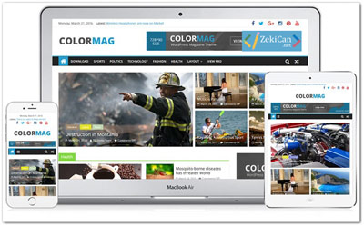 ColorMag Ücretsiz WordPress Teması