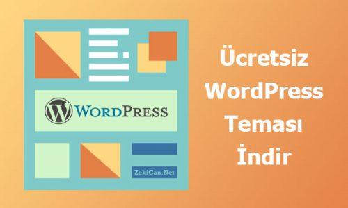 Ücretsiz WordPress Temaları İndir