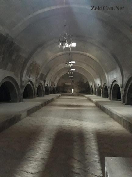 Iğdır Harmandöven Selçuklu Kervansarayı içi
