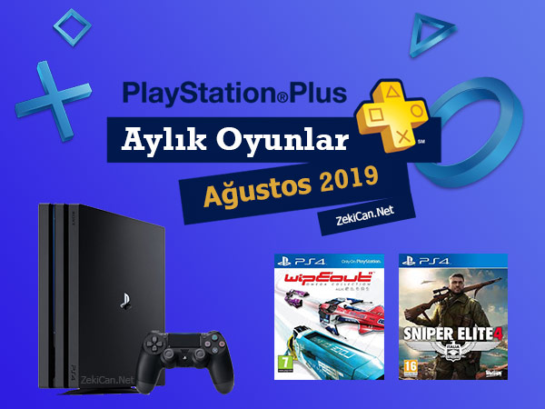 Ps Plus Ağustos 2019 Ayı Ücretsiz Oyunları