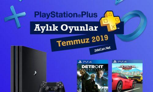 Playstaion Plus Temmuz 2019 Ücretsiz Oyunları