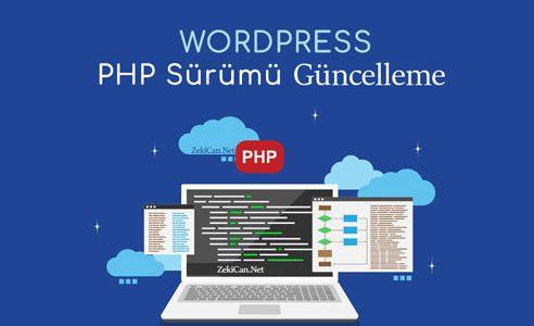 PHP Sürümünü Güncelleme Değiştirme