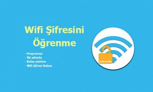 Wifi Wireless Şifresini Bulma Öğrenme