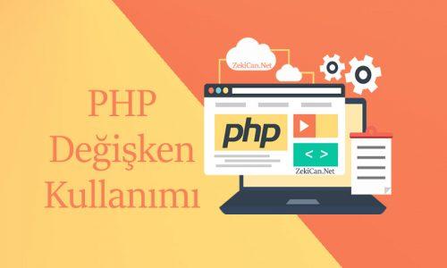 PHP Değişken Kullanımı