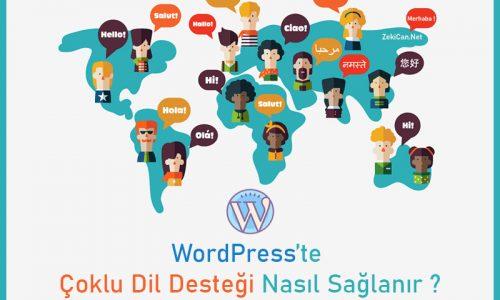 WordPress çoklu dil desteği nasıl sağlanır